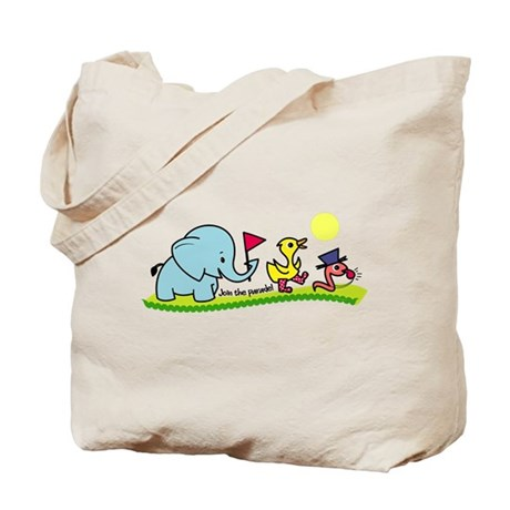 Join the Parade Tote Bag