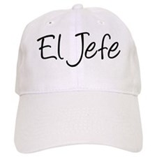 El Jefe The Boss Baseball Cap