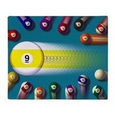 poolballs1 Throw Blanket