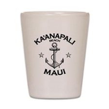 KAANAPALI BEACH MAUI copy Shot Glass