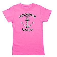 HIDEAWAYS BEACH KAUAI copy Girl's Tee
