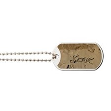 Sandprint Love Dog Tags
