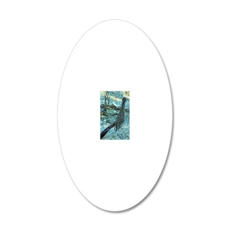 roadrunner 20x12 Oval Wall Decal