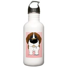 StBernardCard Water Bottle