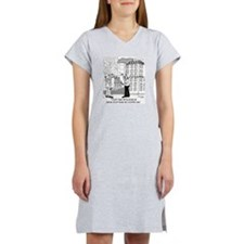 4384_blueprint_cartoon Women's Nightshirt