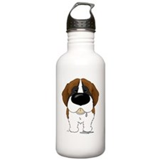 StBernardShirtFront Water Bottle
