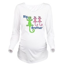 Big Brother of Twin  Long Sleeve Maternity T-Shirt