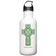 iPhone Celtic Cross n4 Sports Water Bottle