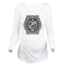brooklynlogo Long Sleeve Maternity T-Shirt