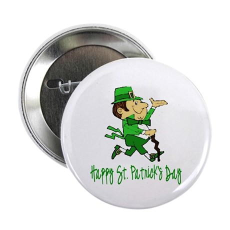 Leprechaun Dandy Button