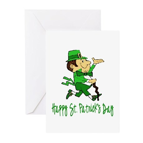 Leprechaun Dandy Greeting Cards (Pk of 10)