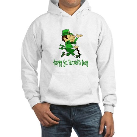Leprechaun Dandy Hooded Sweatshirt