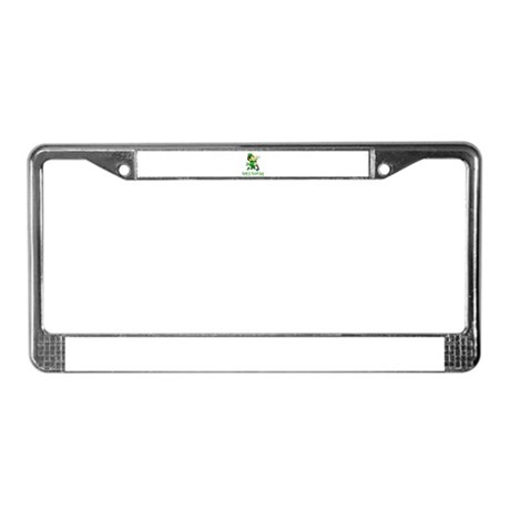 Leprechaun Dandy License Plate Frame