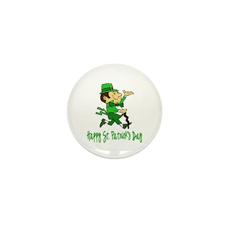 Leprechaun Dandy Mini Button