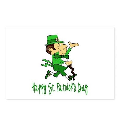 Leprechaun Dandy Postcards (Package of 8)