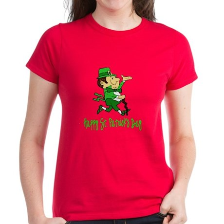 Leprechaun Dandy Women's Dark T-Shirt