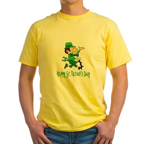 Leprechaun Dandy Yellow T-Shirt