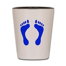 bluefeet Shot Glass