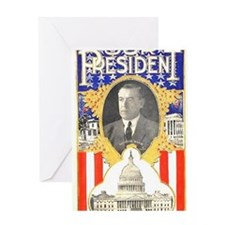 ART Our President Woodrow Wilson Greeting Card