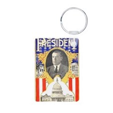 ART Our President Woodrow  Keychains