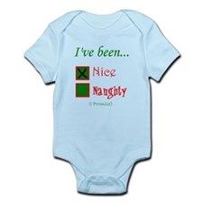 Dear Santa, Ive been Nice Body Suit