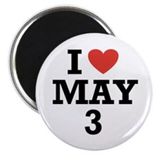 I Heart May 3 Magnet