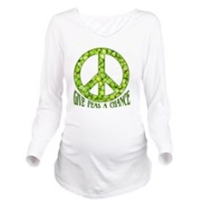 GivePeasachance Long Sleeve Maternity T-Shirt
