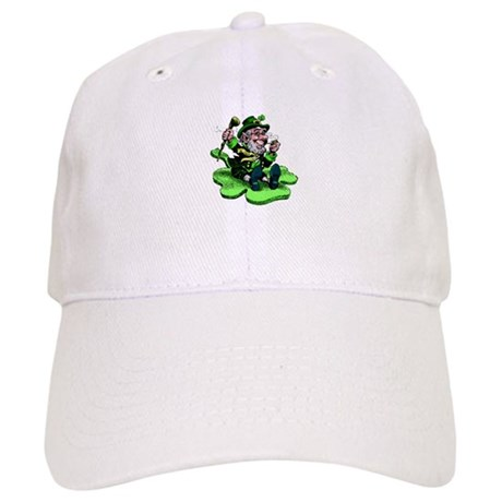 Leprechaun on Shamrock Cap