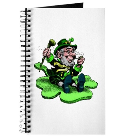 Leprechaun on Shamrock Journal