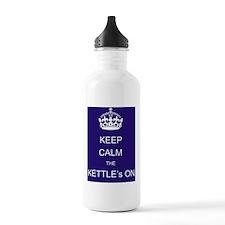 keep_calm_the_kettles_ Water Bottle