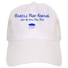 SeattleRainsm Baseball Cap