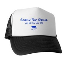 SeattleRainsm Trucker Hat