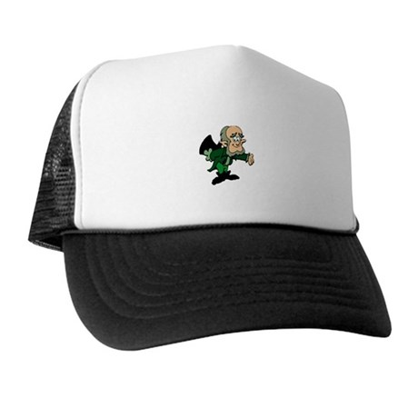 Leprechaun Bowing Trucker Hat