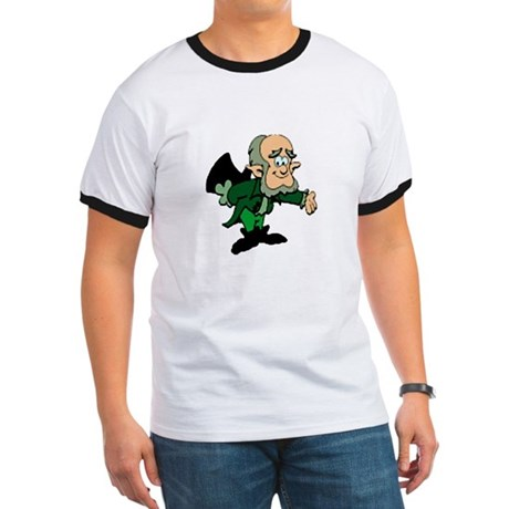 Leprechaun Bowing Ringer T