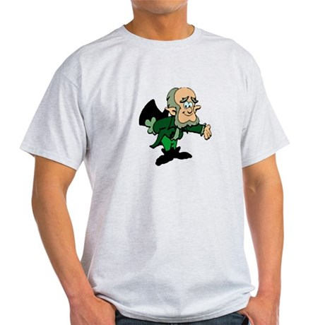 Leprechaun Bowing Light T-Shirt