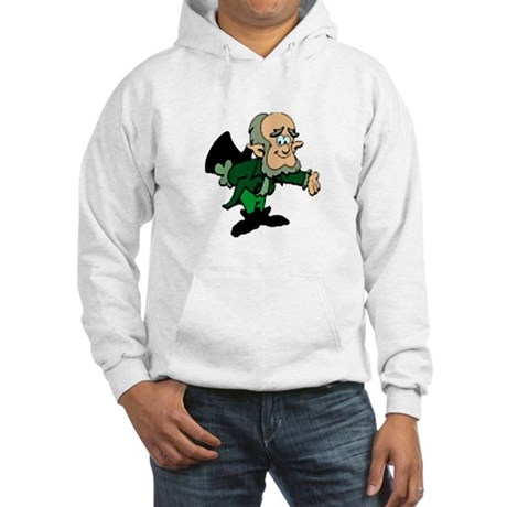 Leprechaun Bowing Hooded Sweatshirt