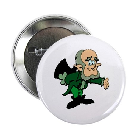 Leprechaun Bowing Button