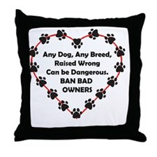 Any breed Throw Pillow