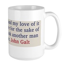 johngalt_saying Mug
