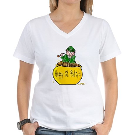 Pot of Gold Women's V-Neck T-Shirt