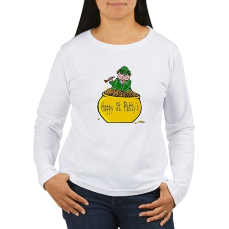 Pot of Gold Women's Long Sleeve T-Shirt