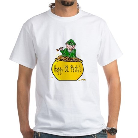 Pot of Gold White T-Shirt