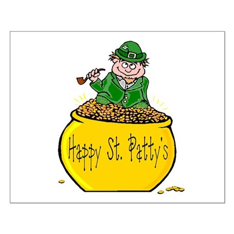 Pot of Gold Small Poster