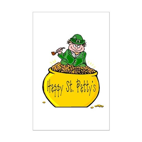 Pot of Gold Mini Poster Print