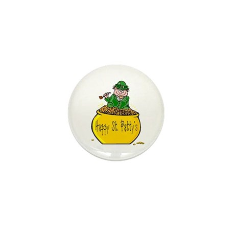 Pot of Gold Mini Button (10 pack)