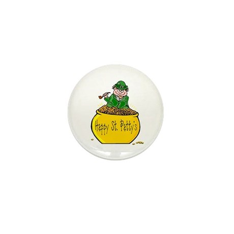 Pot of Gold Mini Button