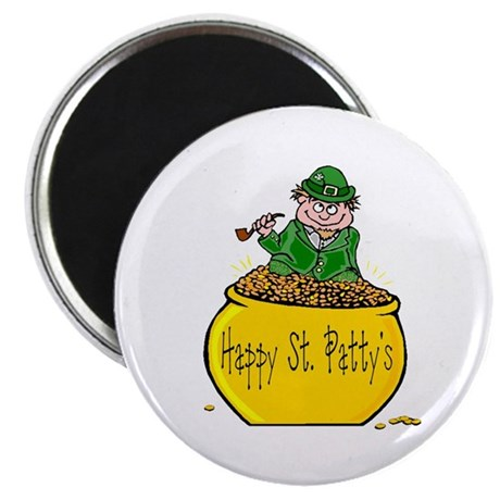 "Pot of Gold 2.25"" Magnet (100 pack)"