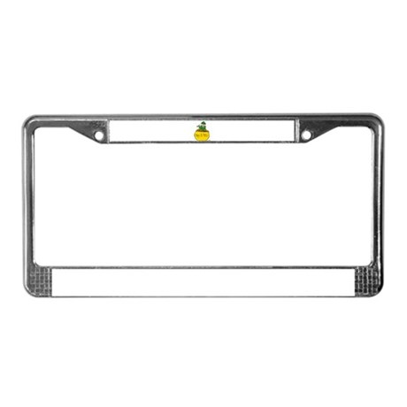 Pot of Gold License Plate Frame