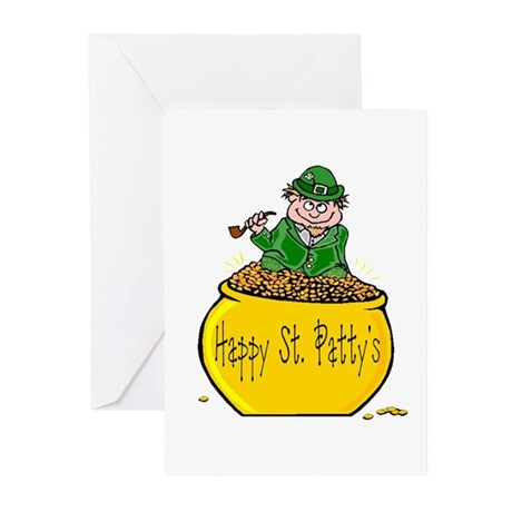 Pot of Gold Greeting Cards (Pk of 10)
