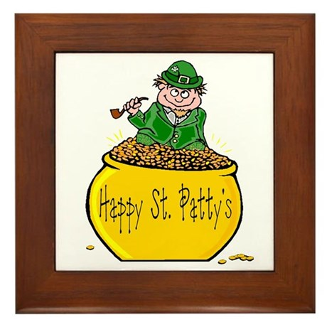 Pot of Gold Framed Tile